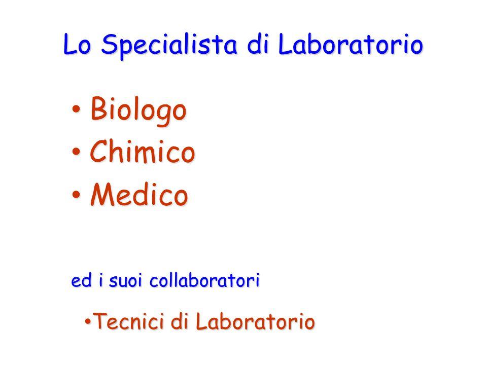 Lo Specialista di Laboratorio