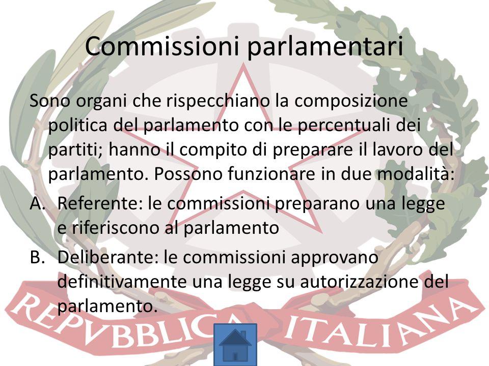 Commissioni parlamentari