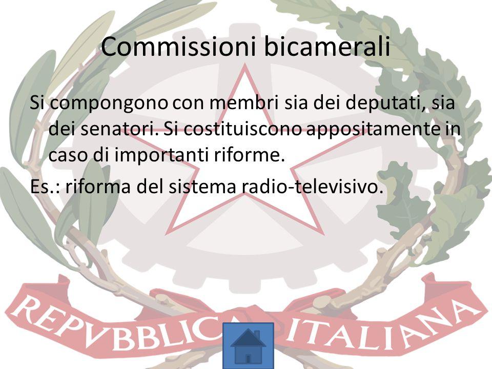 Commissioni bicamerali