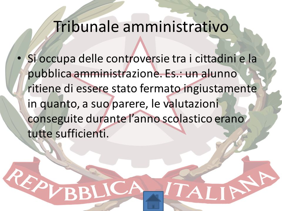 Tribunale amministrativo