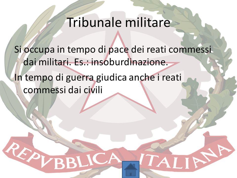 Tribunale militare