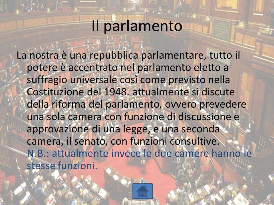 Presidente camera deputati 630 gruppi parlamentari for Le due camere del parlamento