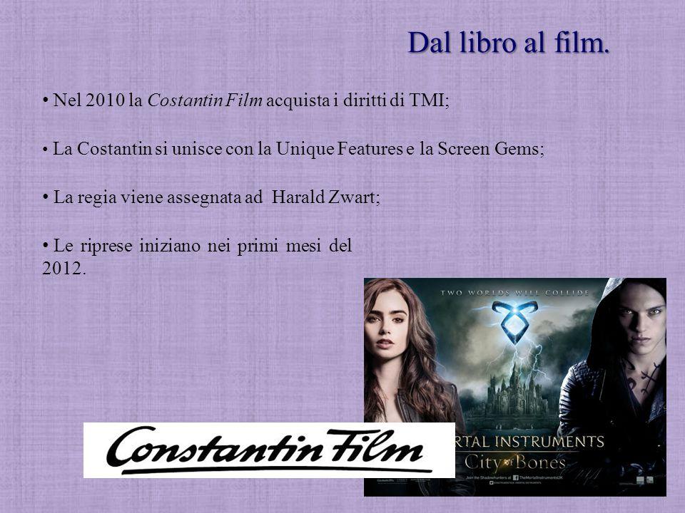 Dal libro al film. Nel 2010 la Costantin Film acquista i diritti di TMI; La Costantin si unisce con la Unique Features e la Screen Gems;