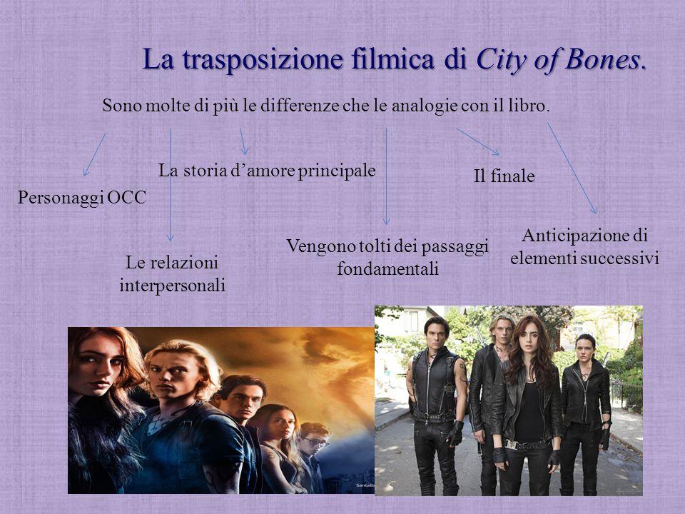 La trasposizione filmica di City of Bones.