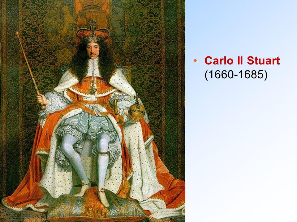 Carlo II Stuart (1660-1685)