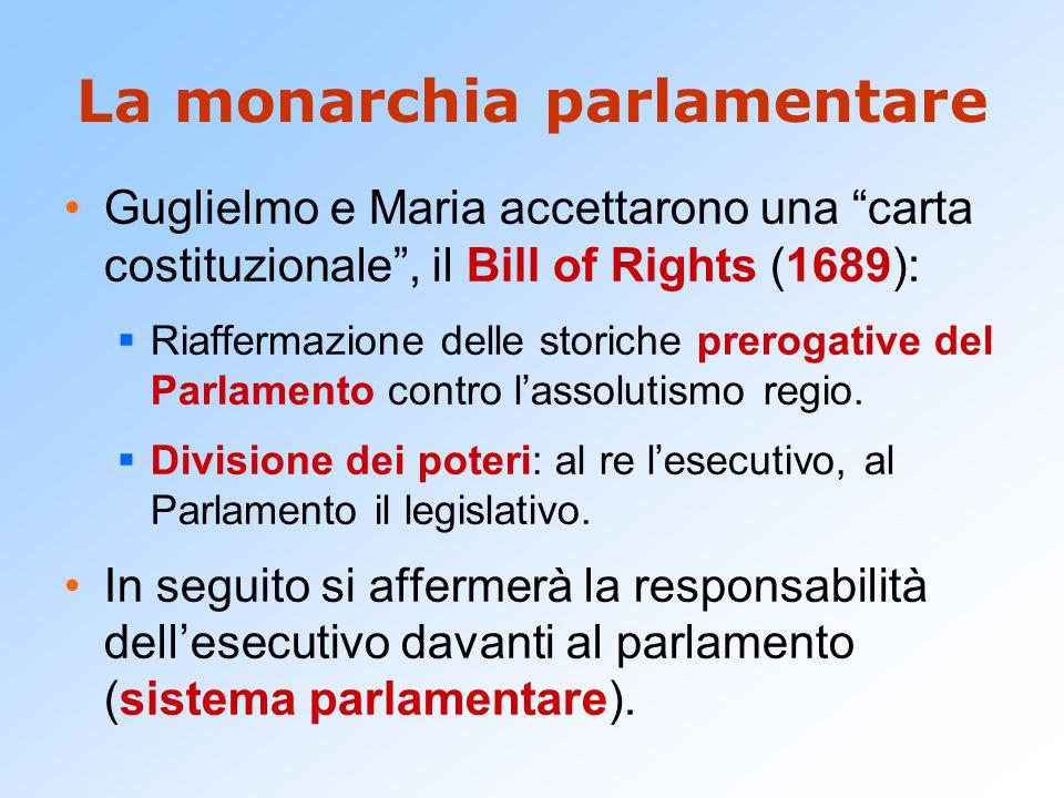 La monarchia parlamentare