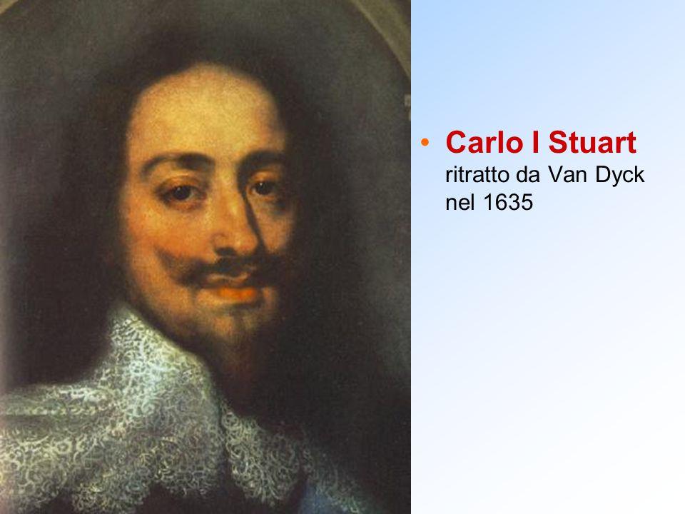 Carlo I Stuart ritratto da Van Dyck nel 1635