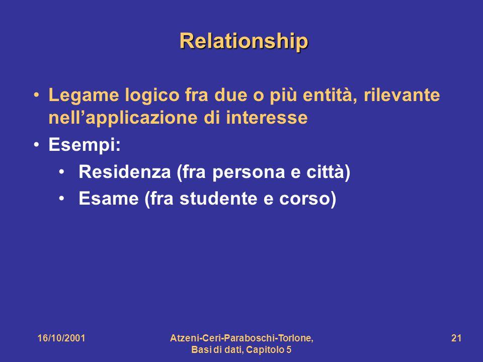 Atzeni-Ceri-Paraboschi-Torlone, Basi di dati, Capitolo 5