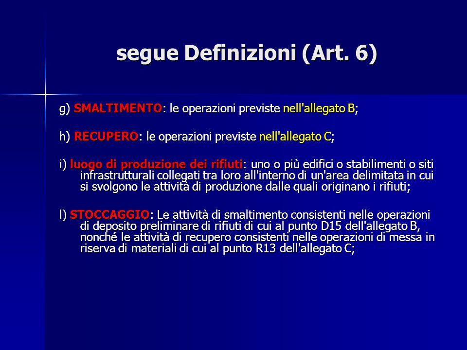 segue Definizioni (Art. 6)