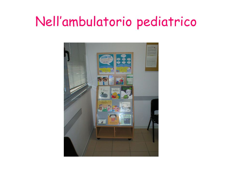 Nell'ambulatorio pediatrico