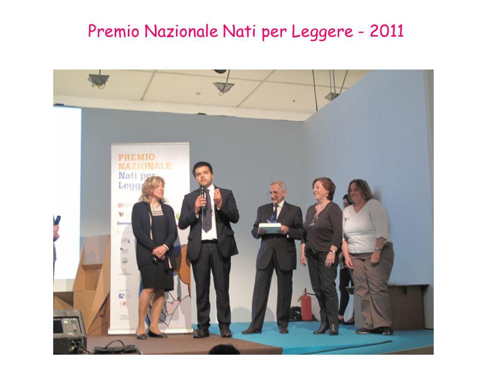 Premio Nazionale Nati per Leggere - 2011
