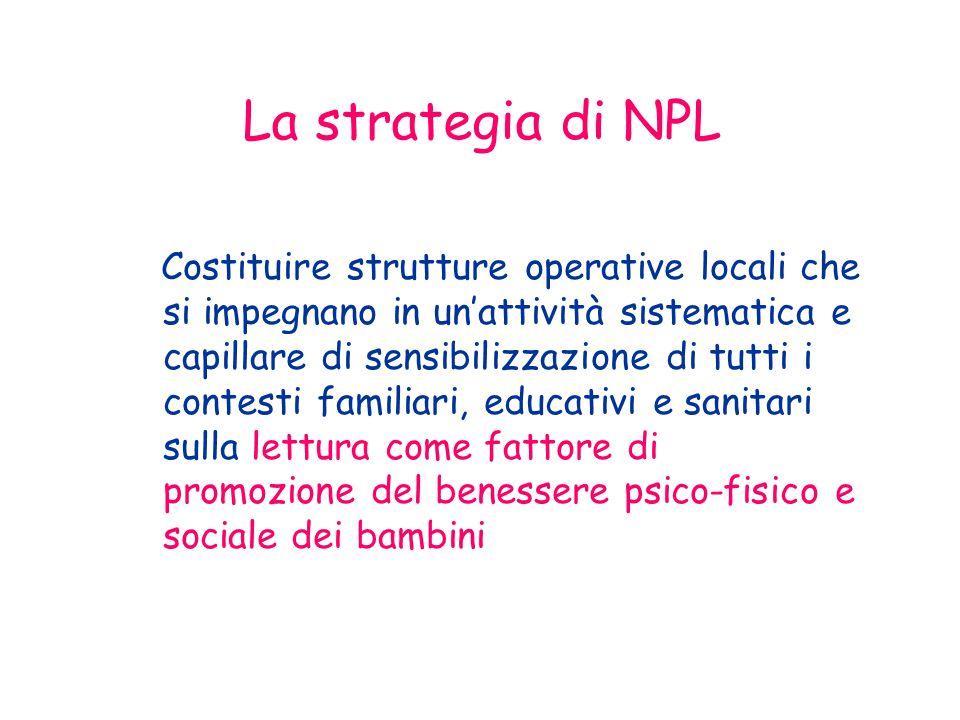 La strategia di NPL