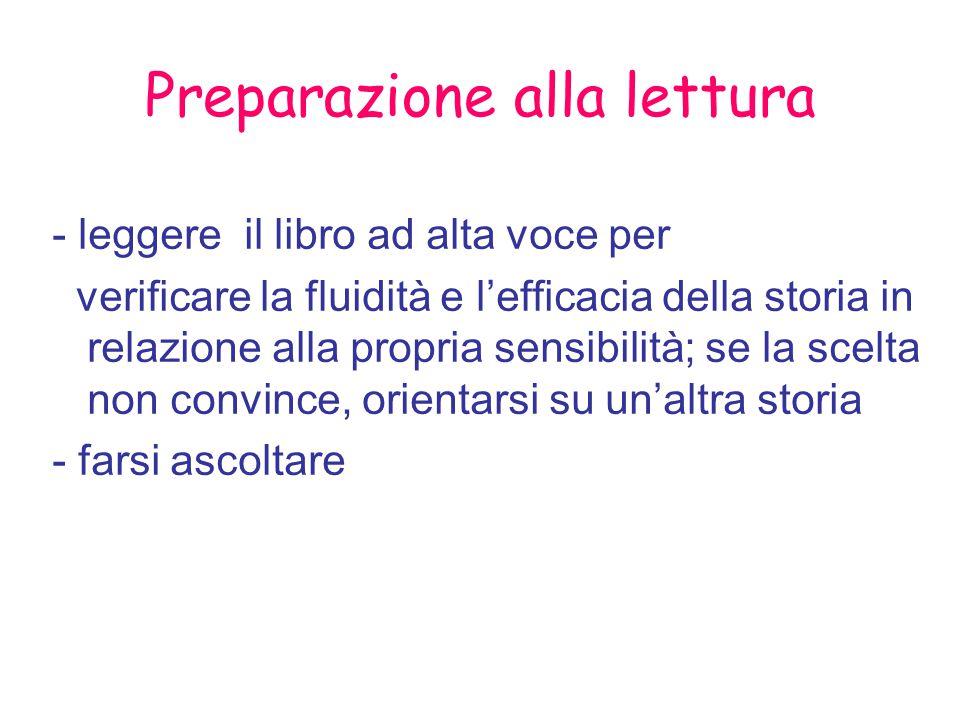 Preparazione alla lettura