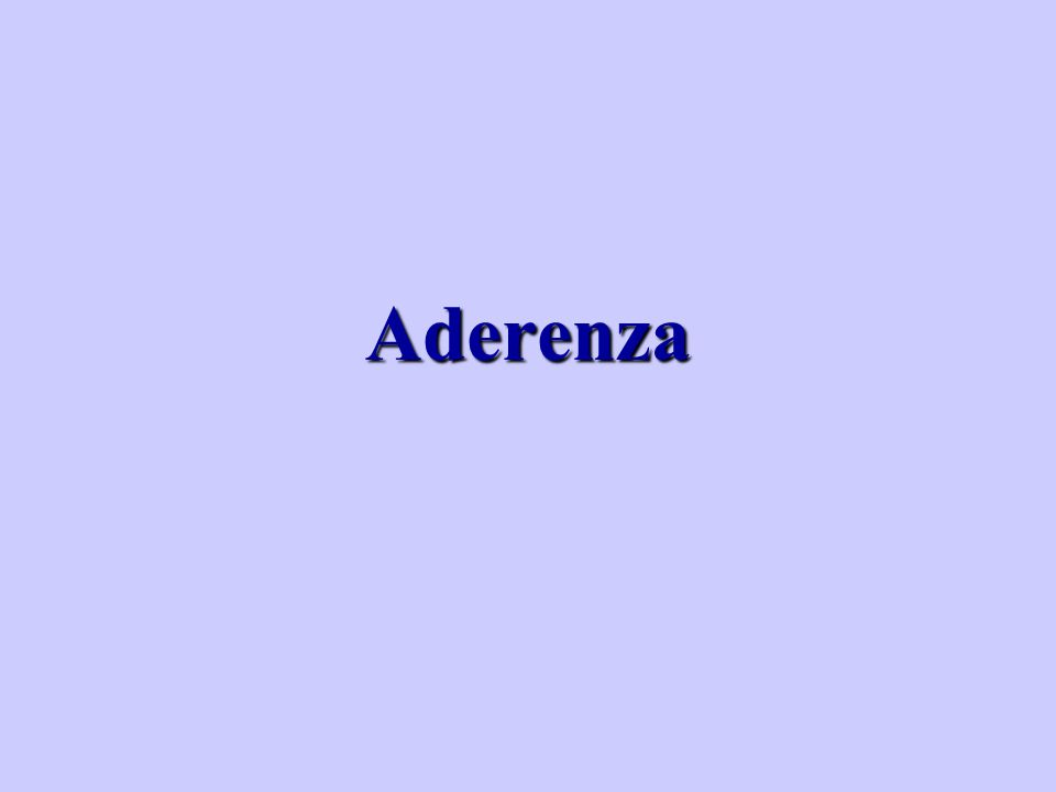 Aderenza