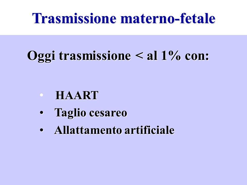 Trasmissione materno-fetale