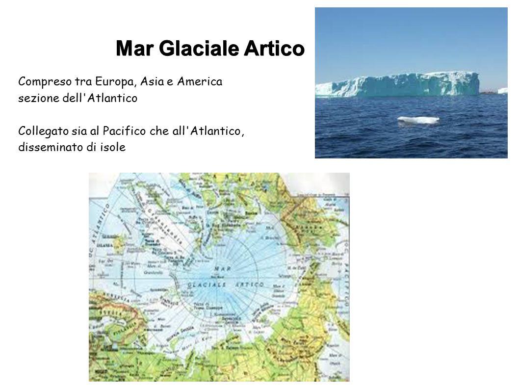 Mar Glaciale Artico Compreso tra Europa, Asia e America