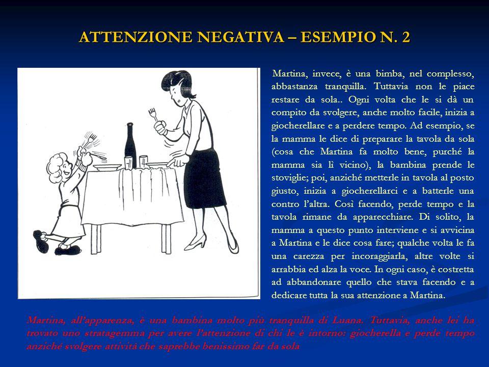 ATTENZIONE NEGATIVA – ESEMPIO N. 2