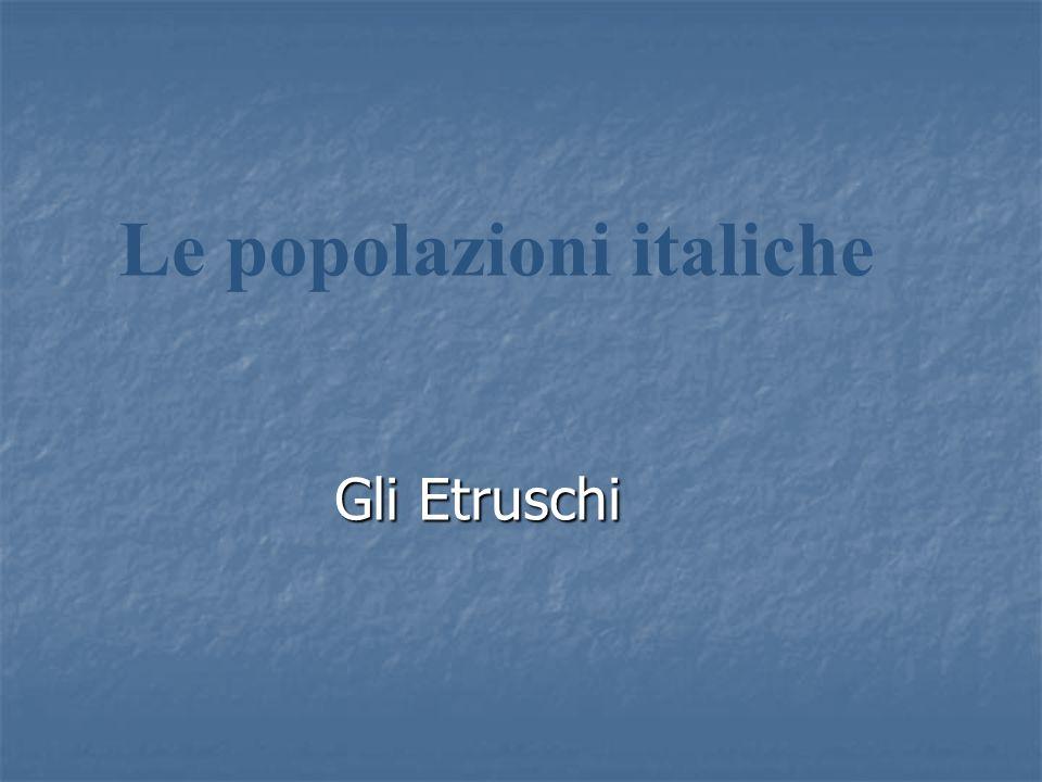 Le popolazioni italiche