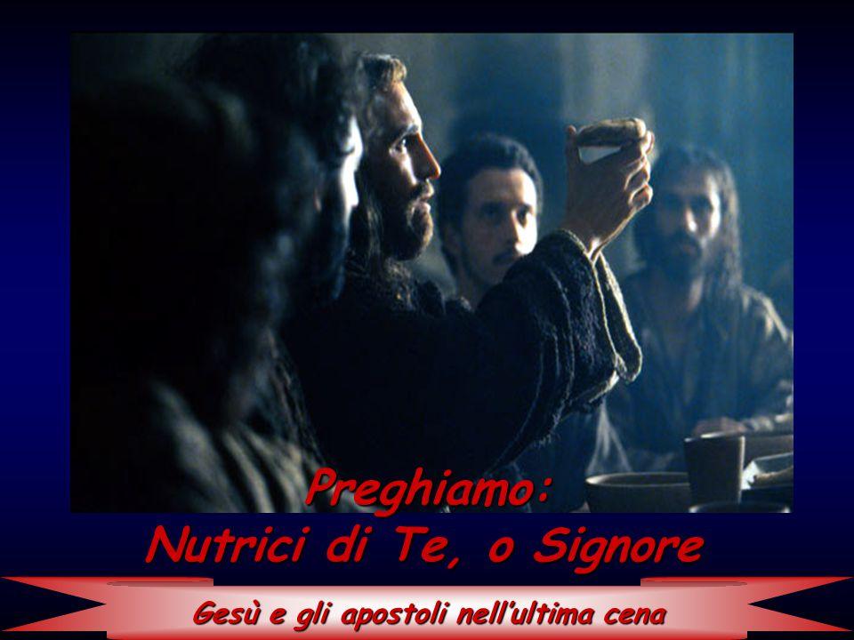 Gesù e gli apostoli nell'ultima cena