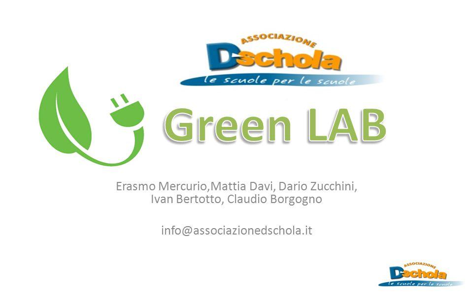 Green LAB Erasmo Mercurio,Mattia Davi, Dario Zucchini, Ivan Bertotto, Claudio Borgogno.