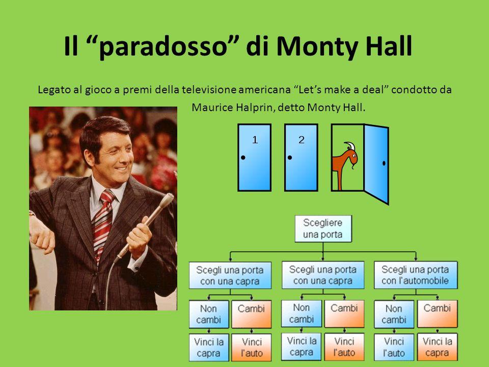 Il paradosso di Monty Hall