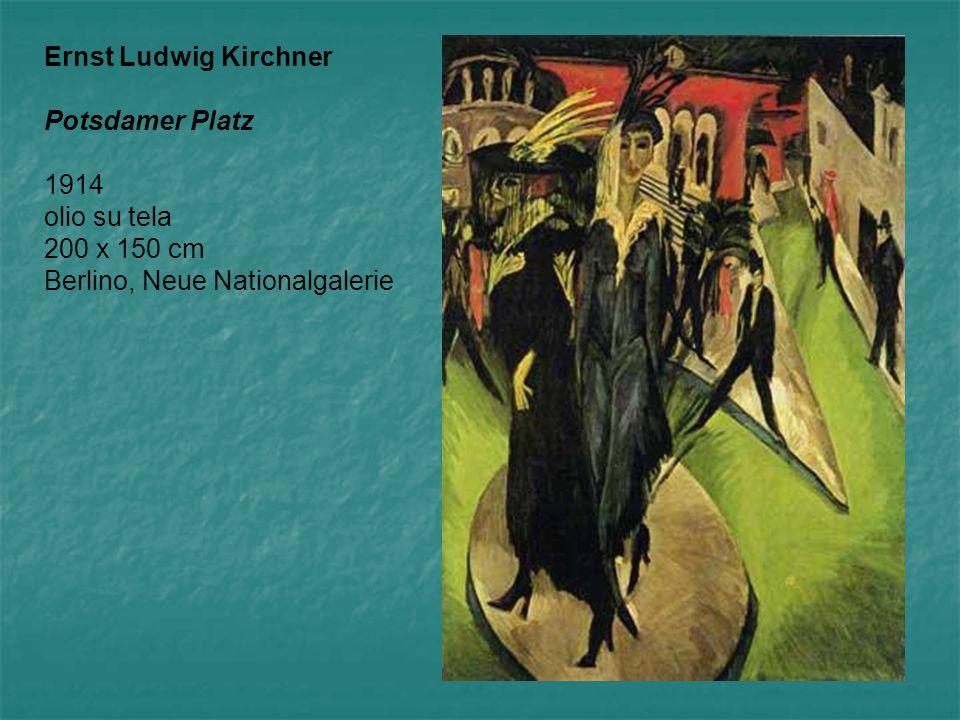 Ernst Ludwig Kirchner Potsdamer Platz.