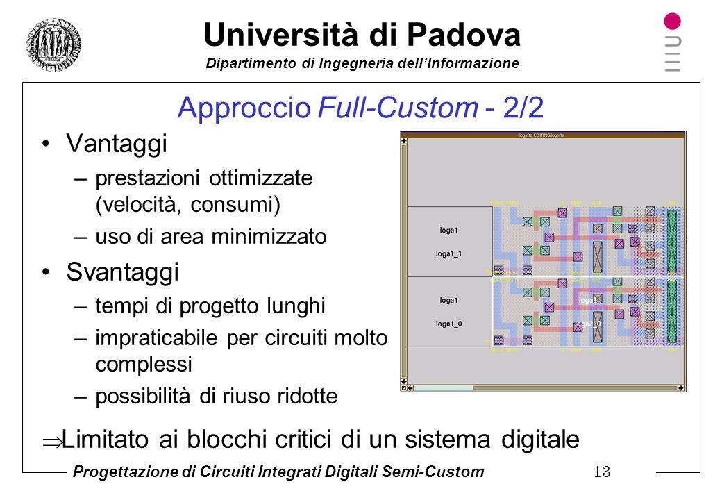 Approccio Full-Custom - 2/2