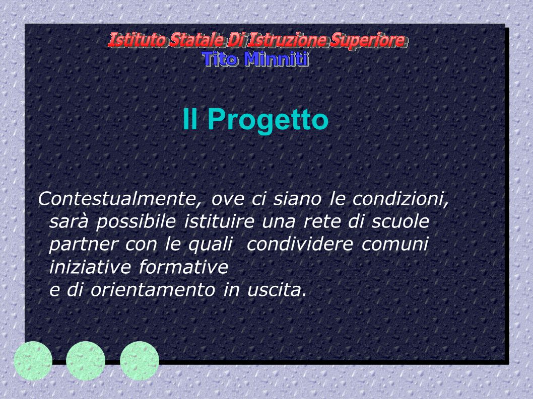 Il Progetto