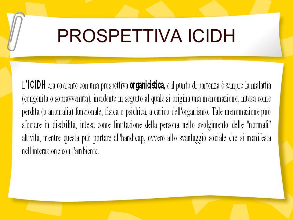 PROSPETTIVA ICIDH