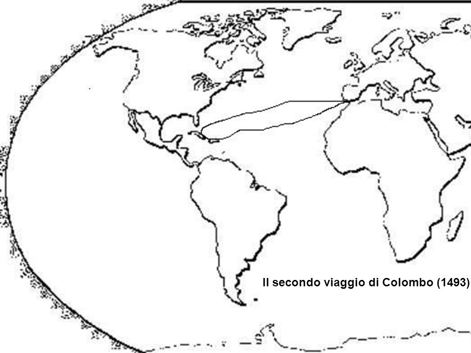 Il secondo viaggio di Colombo (1493)