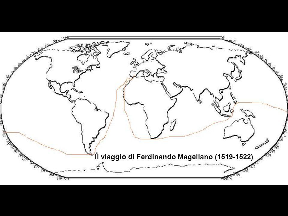 Il viaggio di Ferdinando Magellano (1519-1522)