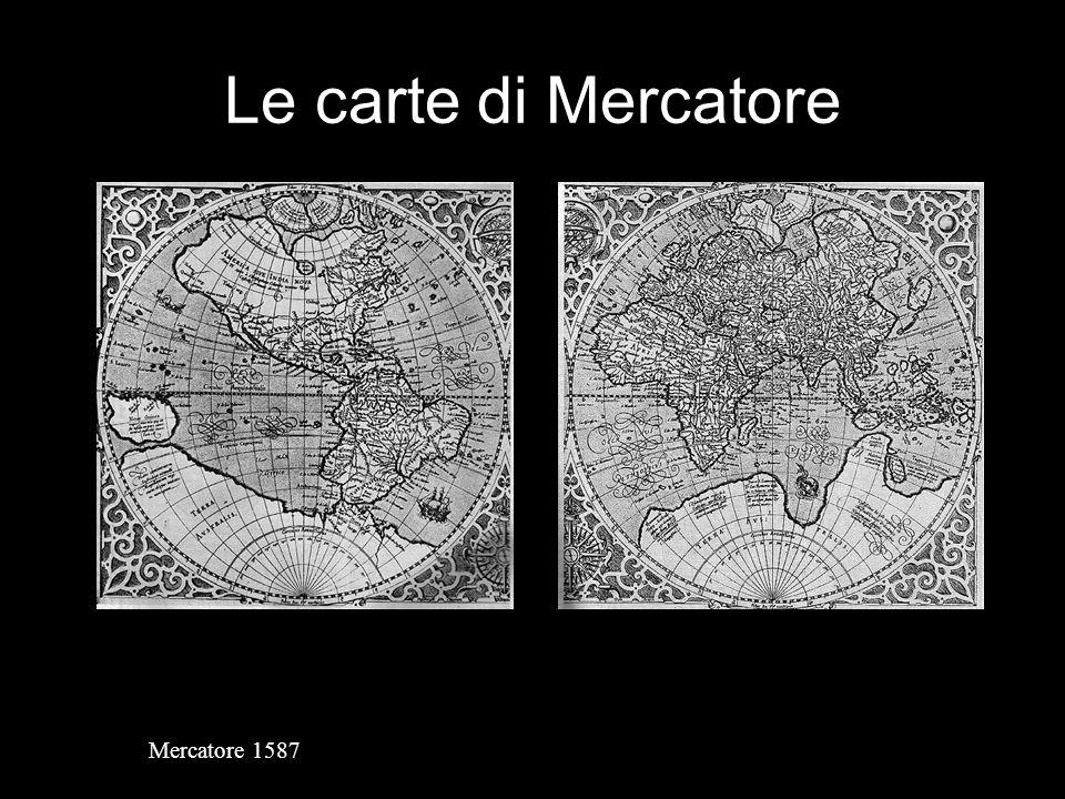 Le carte di Mercatore Mercatore 1587