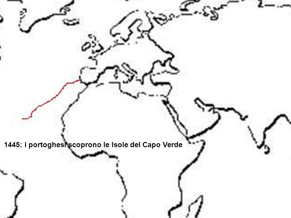 1445: i portoghesi scoprono le Isole del Capo Verde