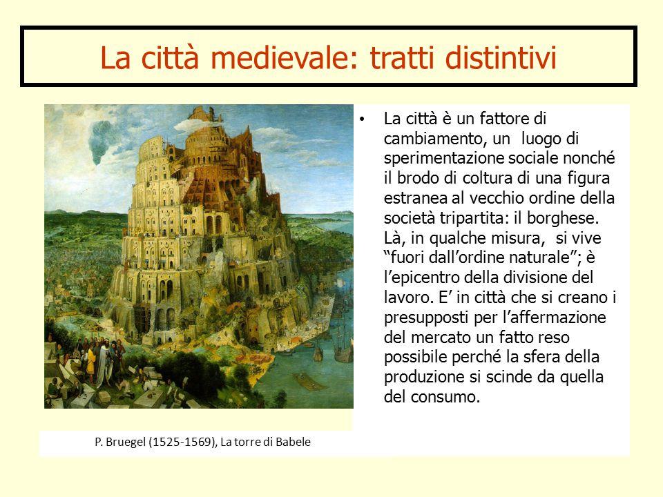 La città medievale: tratti distintivi