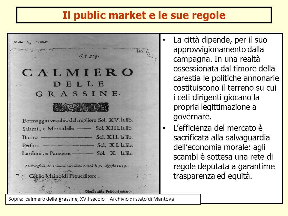 Il public market e le sue regole