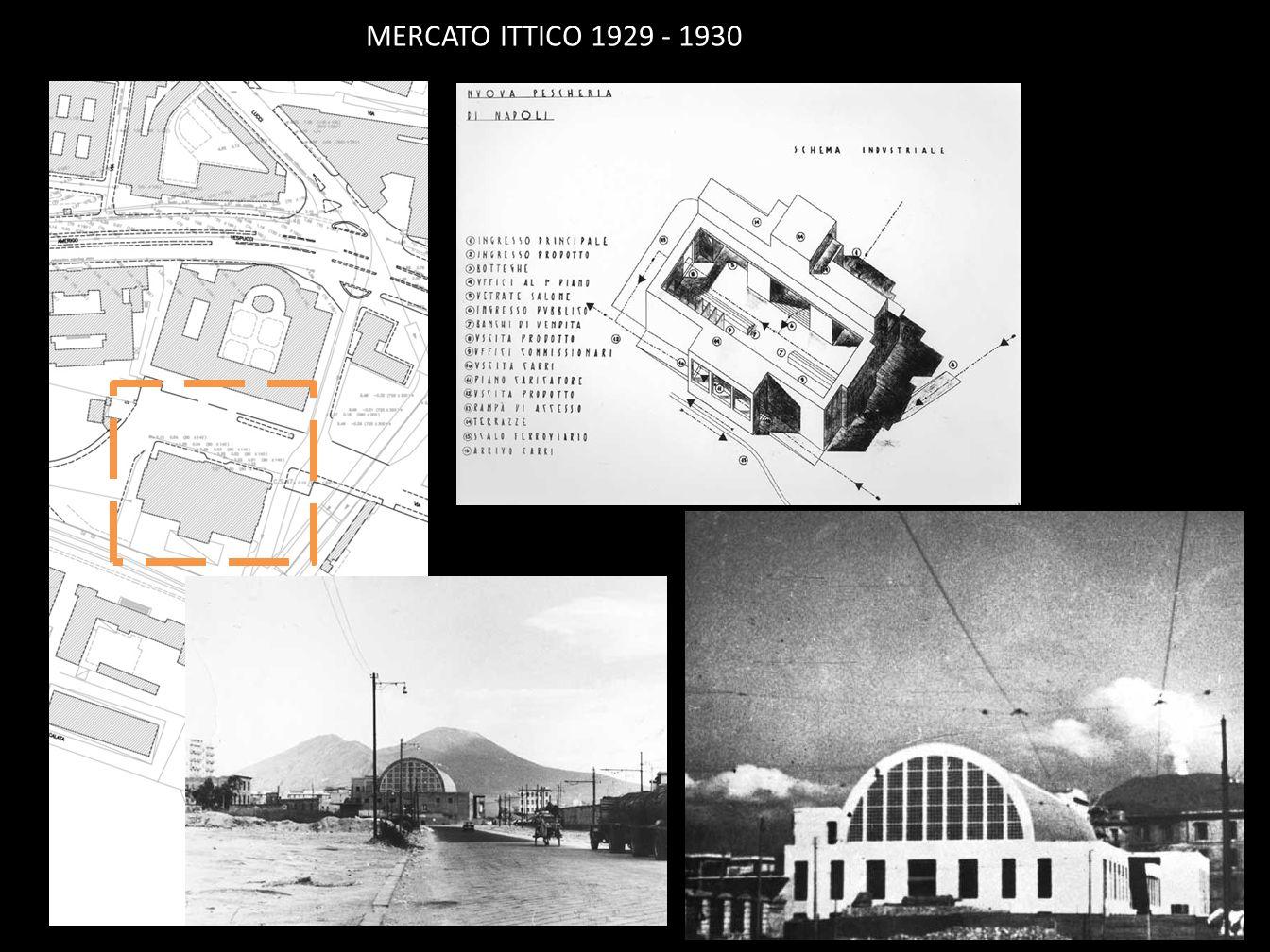 MERCATO ITTICO 1929 - 1930