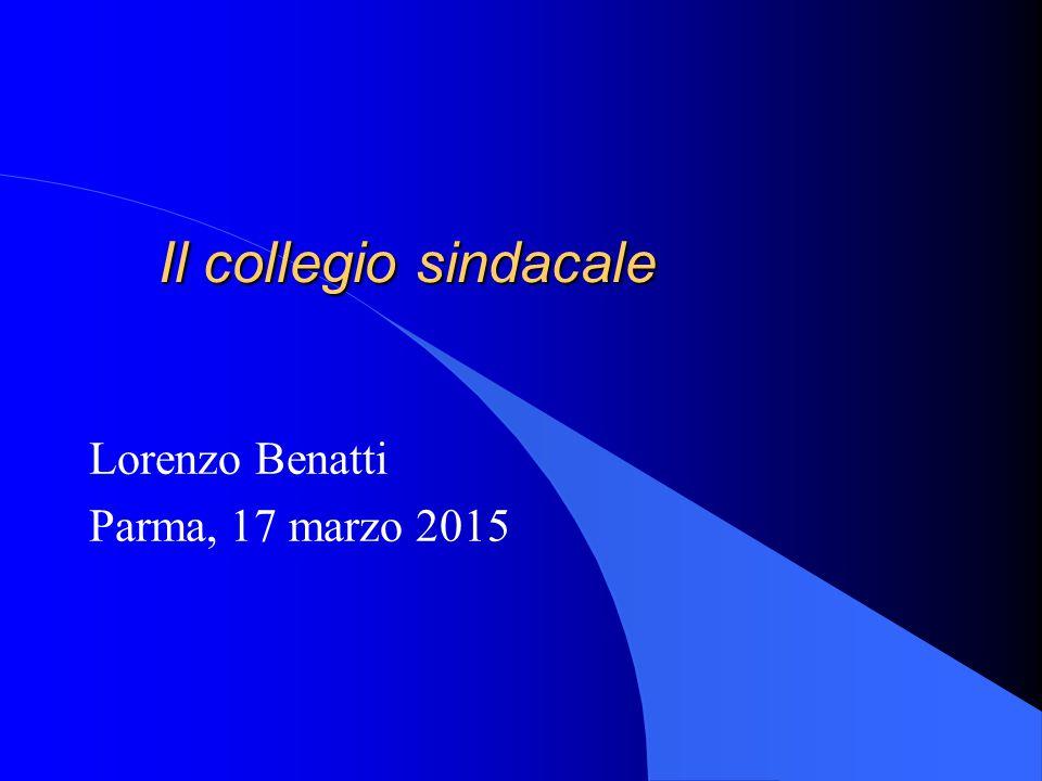 Lorenzo Benatti Parma, 17 marzo 2015