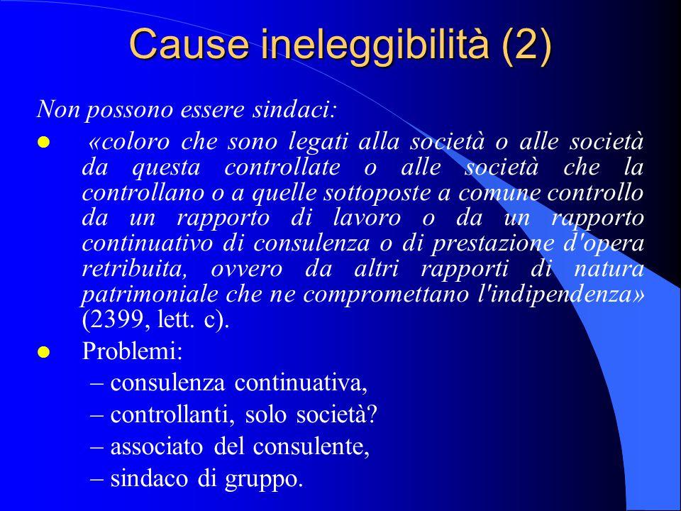 Cause ineleggibilità (2)