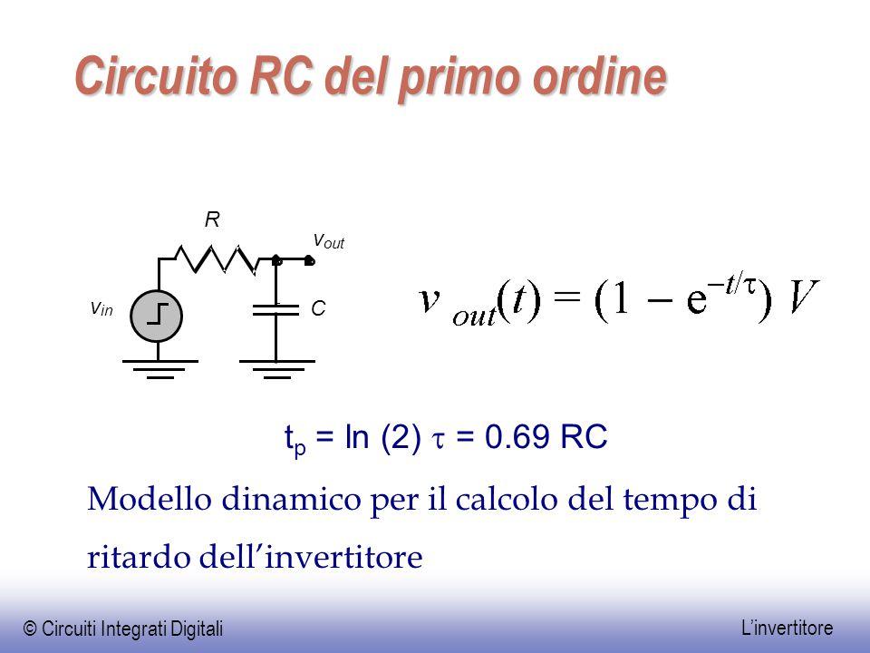 Circuito RC del primo ordine