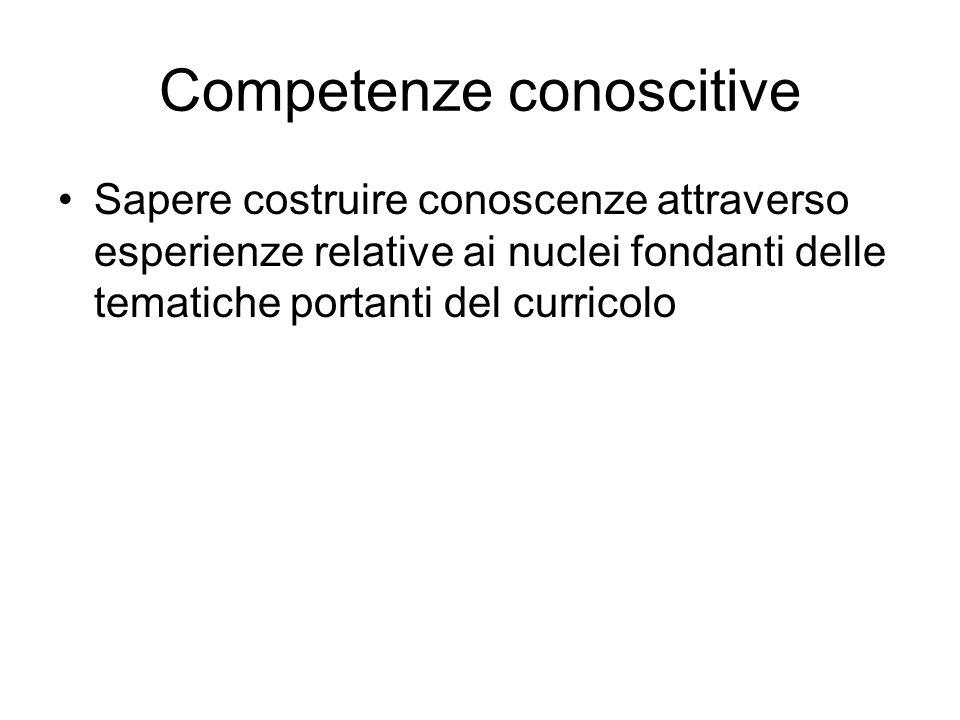Competenze conoscitive