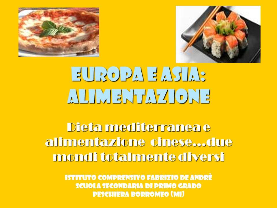 Europa e Asia: alimentazione