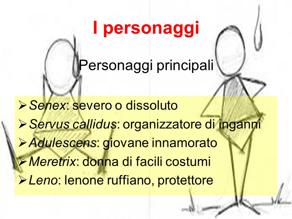 Personaggi principali