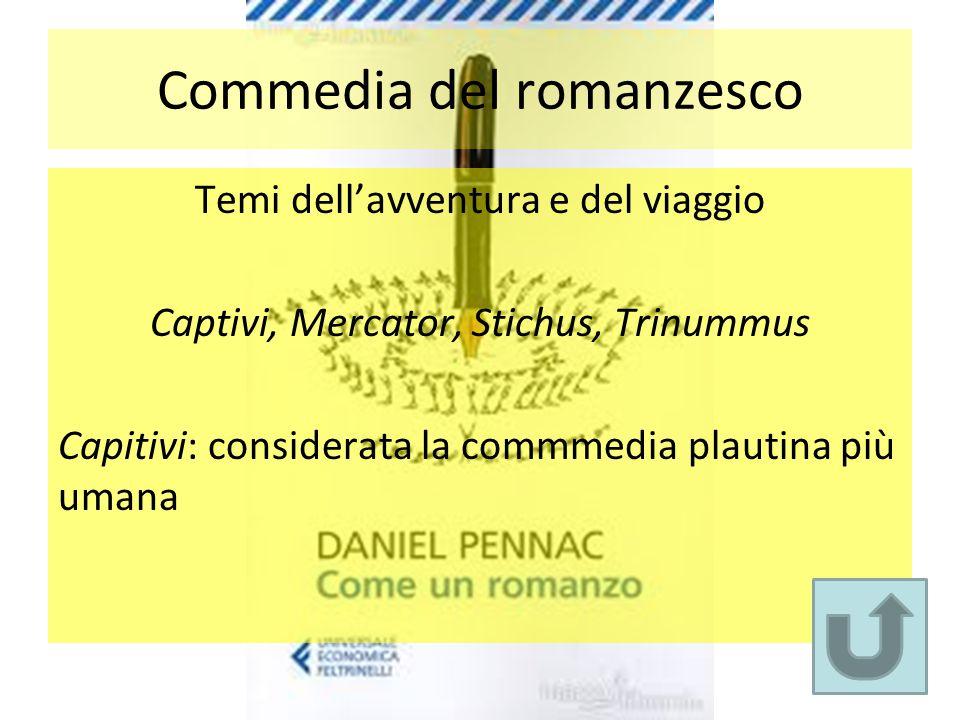 Commedia del romanzesco