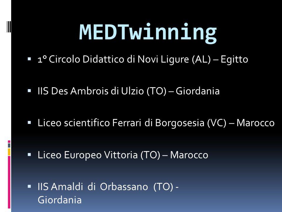 MEDTwinning 1° Circolo Didattico di Novi Ligure (AL) – Egitto