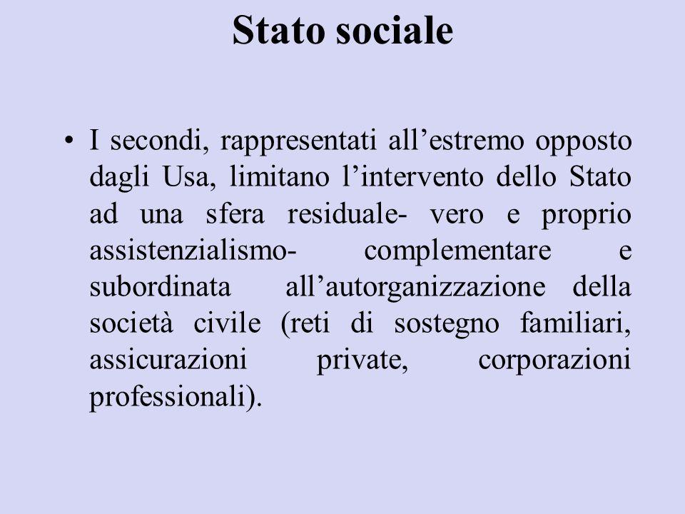 Stato sociale