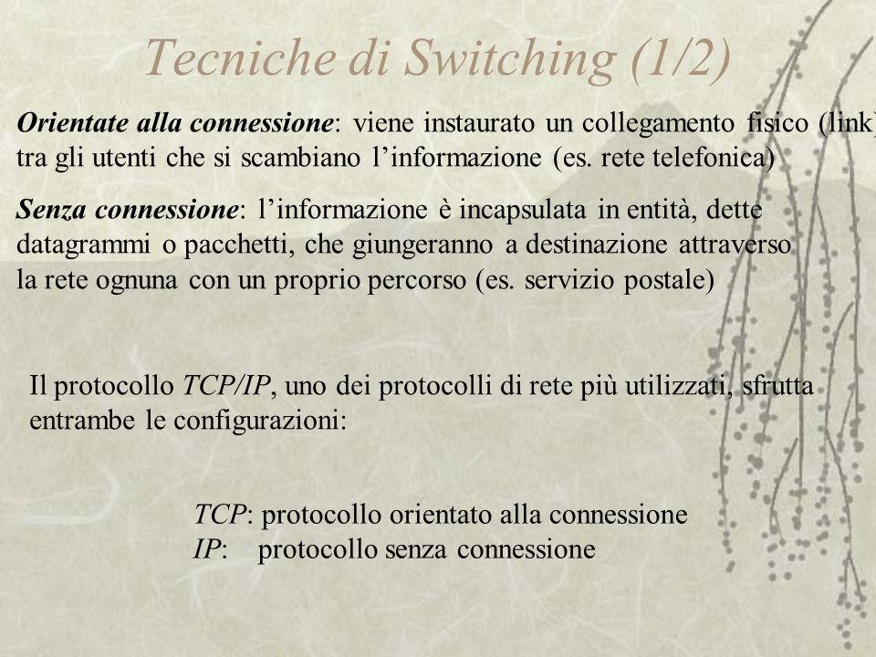 Tecniche di Switching (1/2)