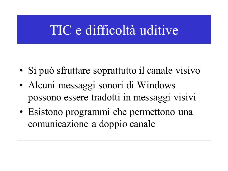 TIC e difficoltà uditive
