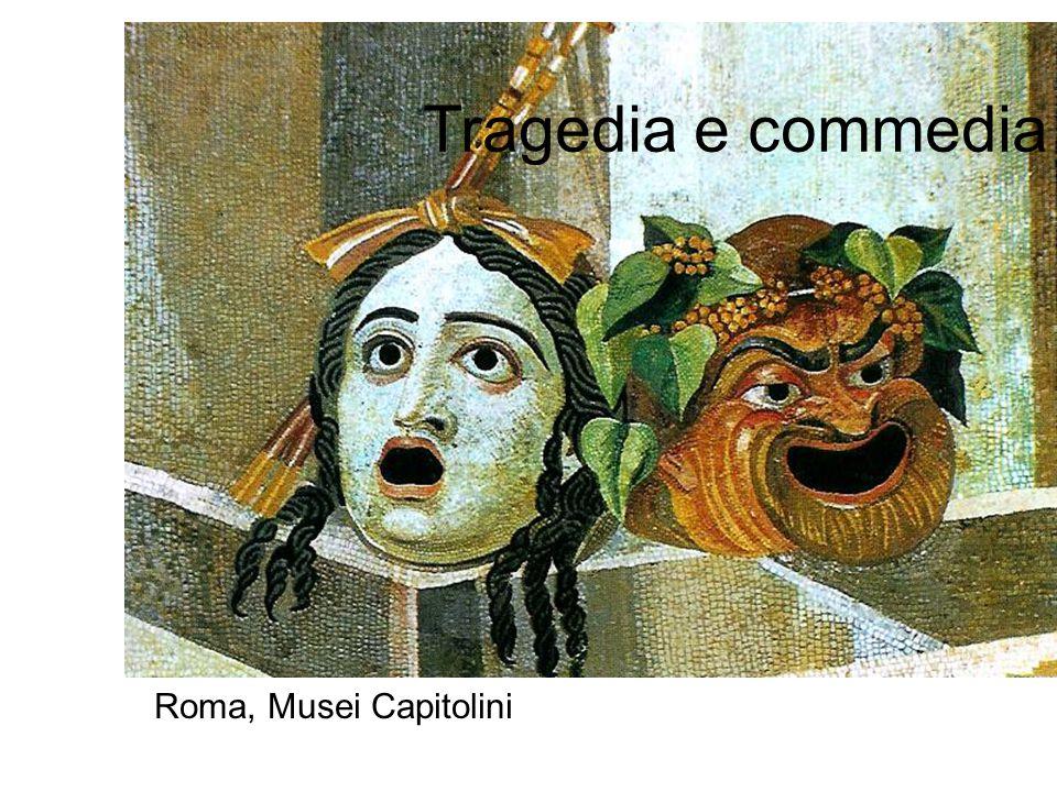 Tragedia e commedia Roma, Musei Capitolini