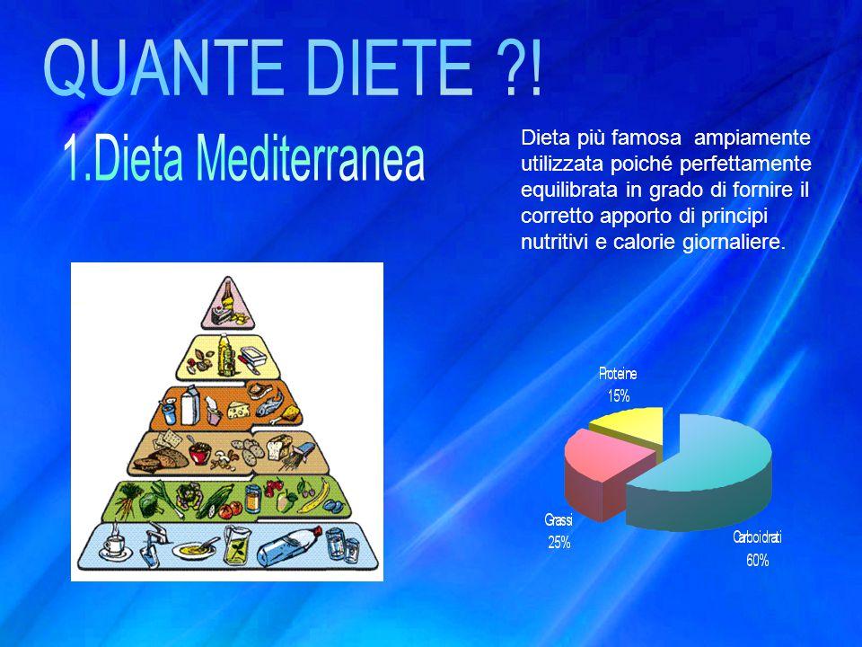 QUANTE DIETE ! 1.Dieta Mediterranea