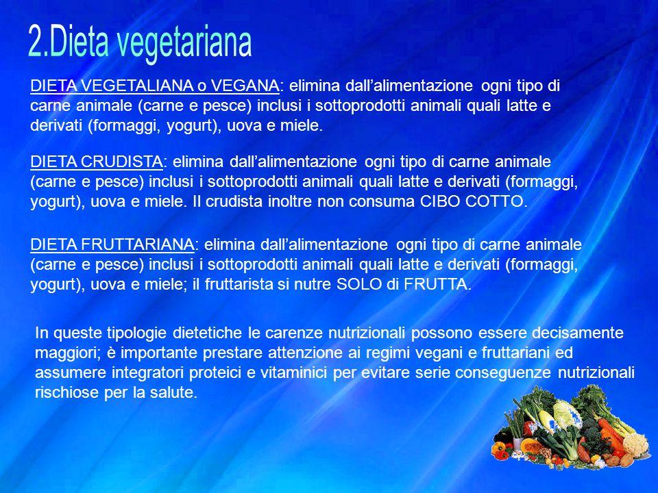 2.Dieta vegetariana